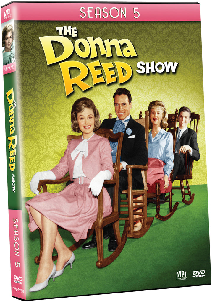 Donna Reed Show: Season 5 - Box Art