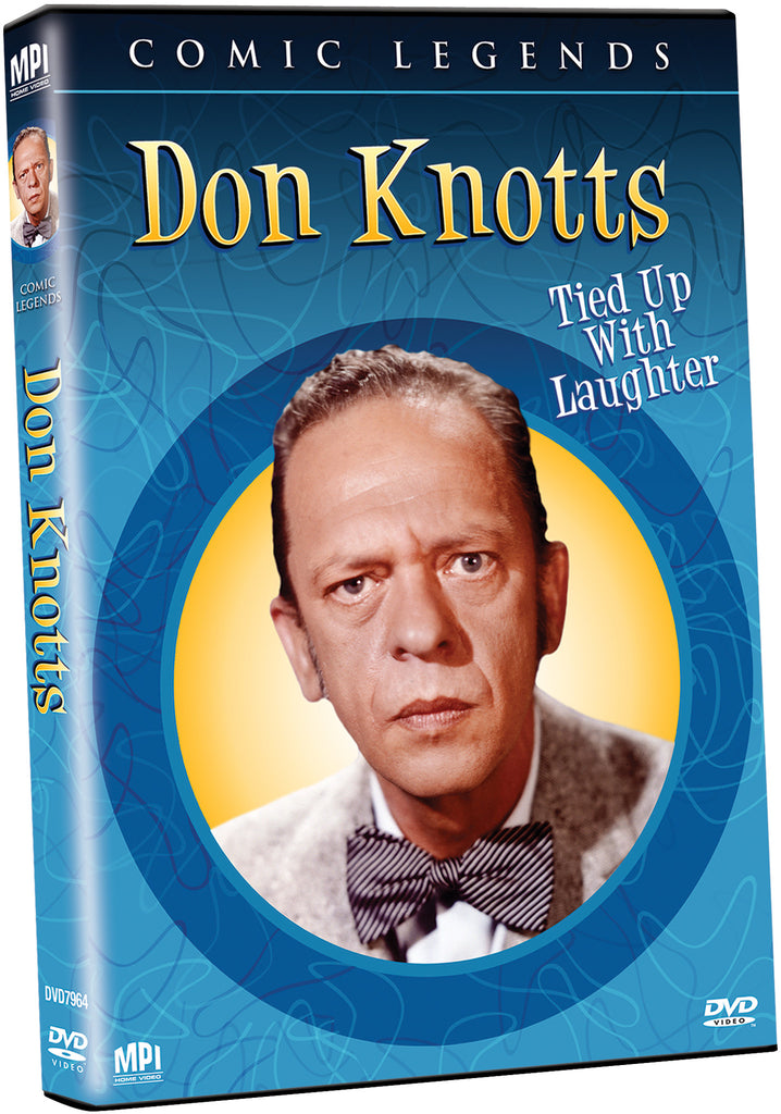 Don Knotts: Tied Up With Laughter - Box Art