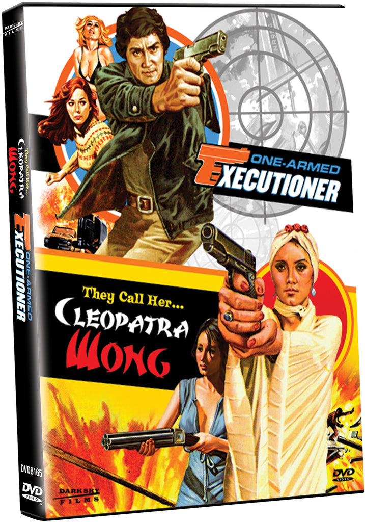 They Call Her Cleopatra and The One-Armed Executioner - Box Art