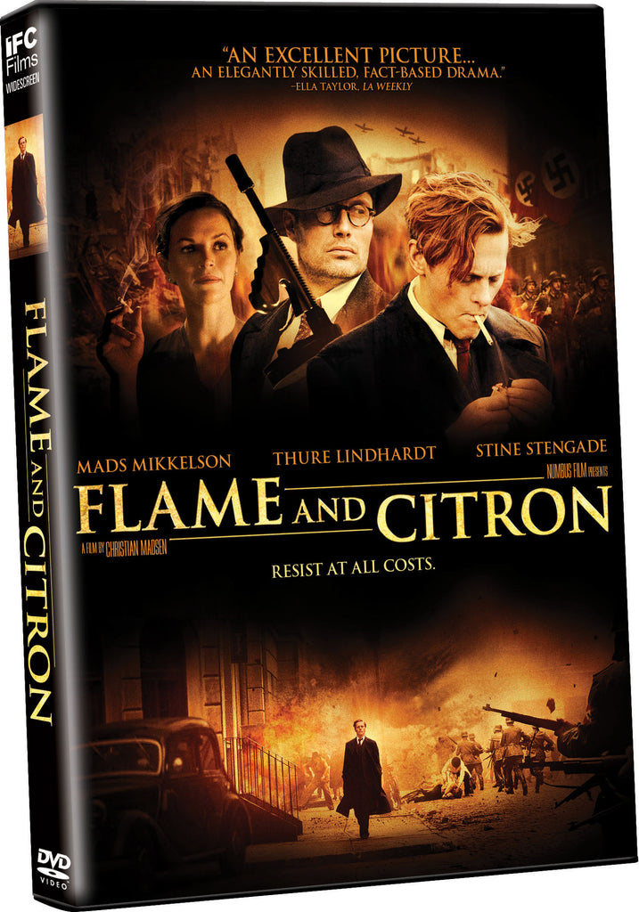 Flame and Citron - Box Art