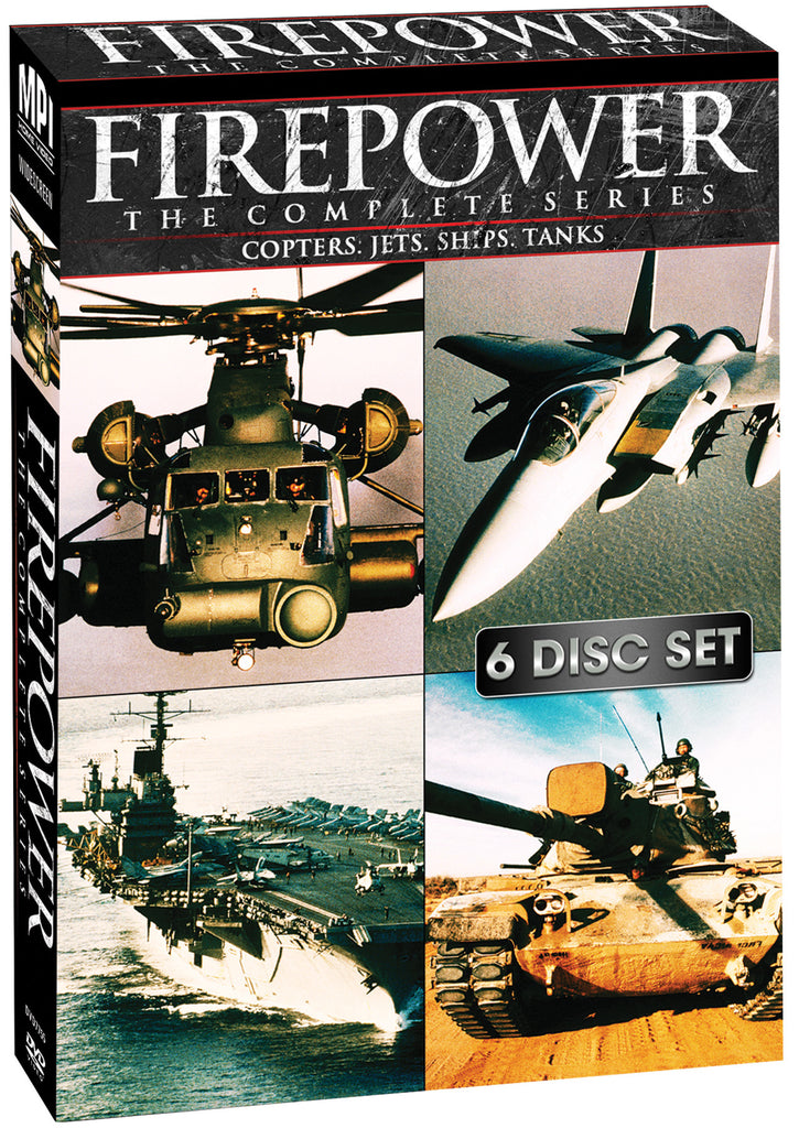 Firepower: The Complete Series - Box Art