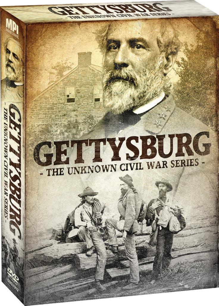 Unknown Civil War Series: Gettysburg, The - Box Art