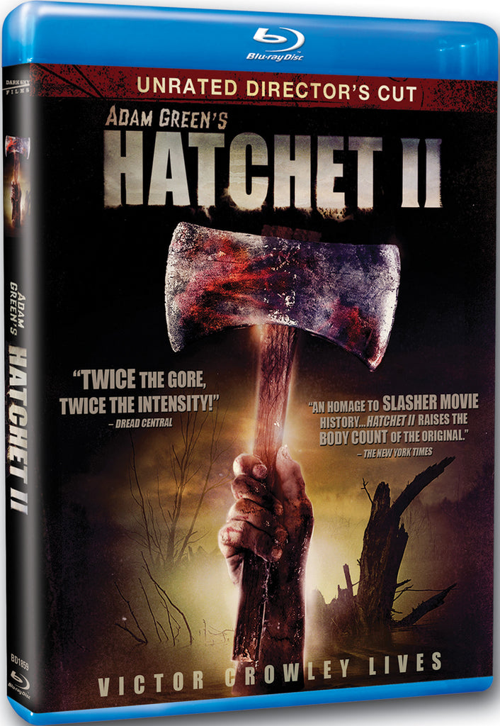 Hatchet II - Box Art
