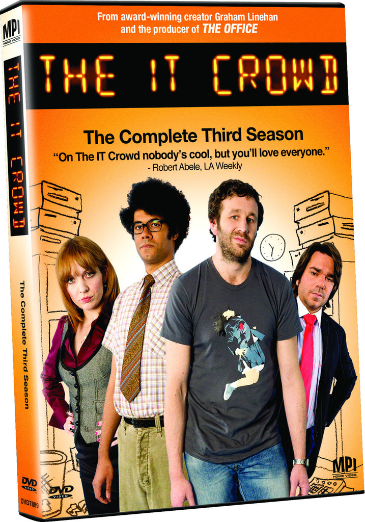 IT Crowd: Complete Third Season, The - Box Art