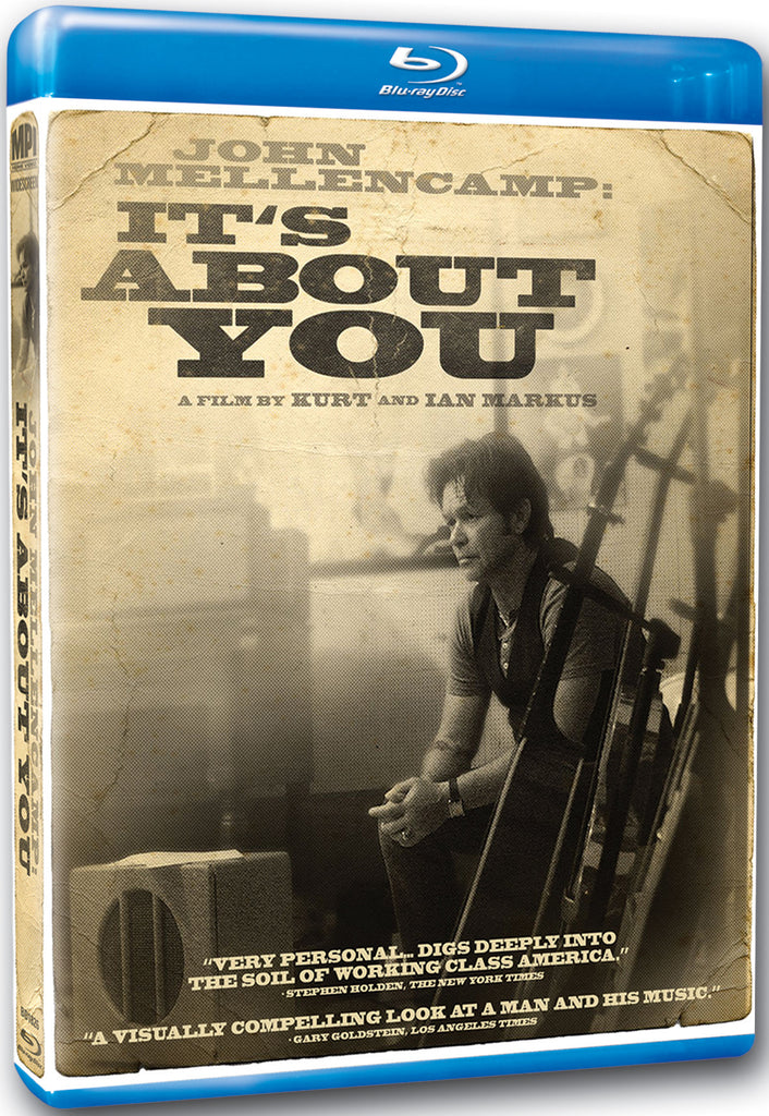 John Mellencamp: It's About You - Box Art