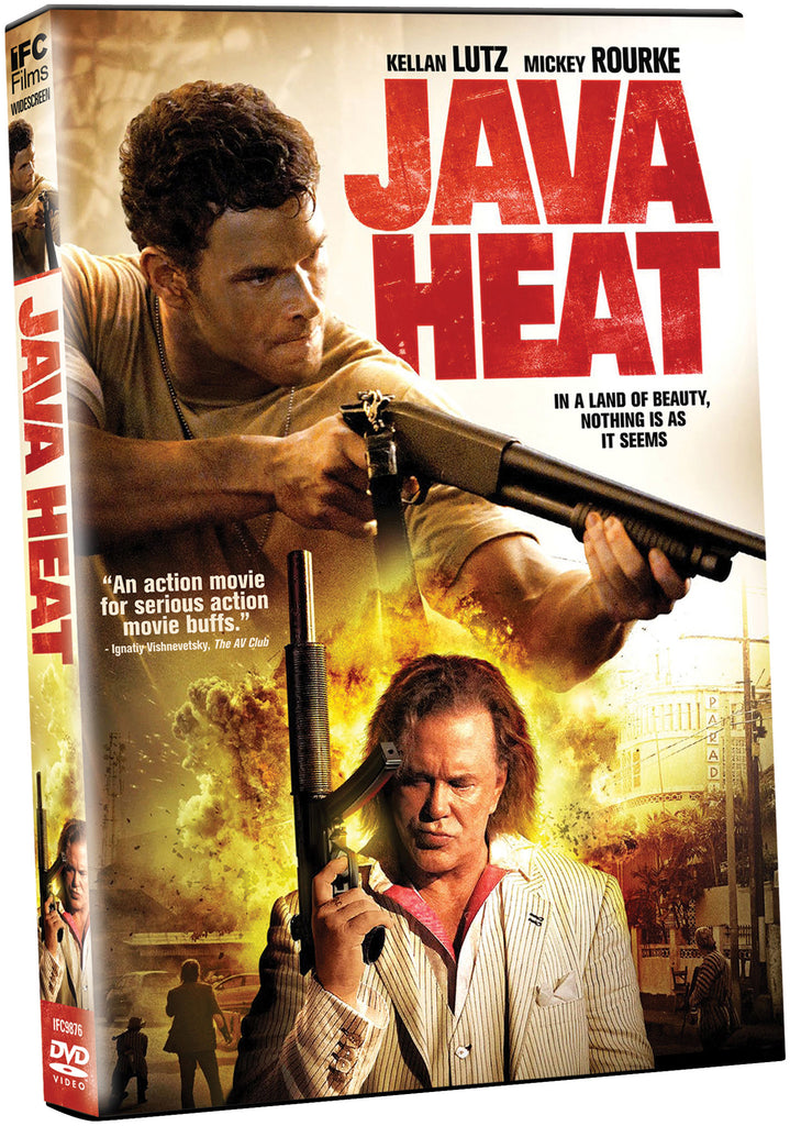 Java Heat - Box Art