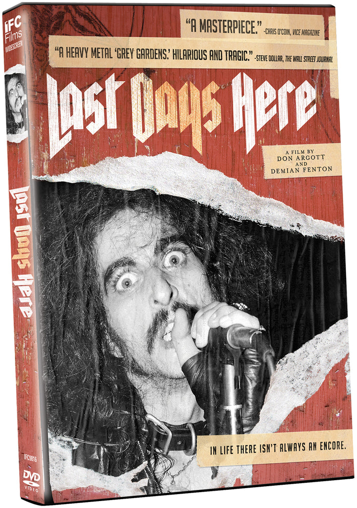 Last Days Here - Box Art