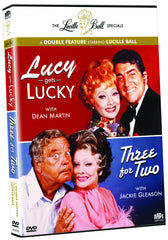Lucille Ball Specials: Lucy Gets Lucky and Three For Two, The - Box Art