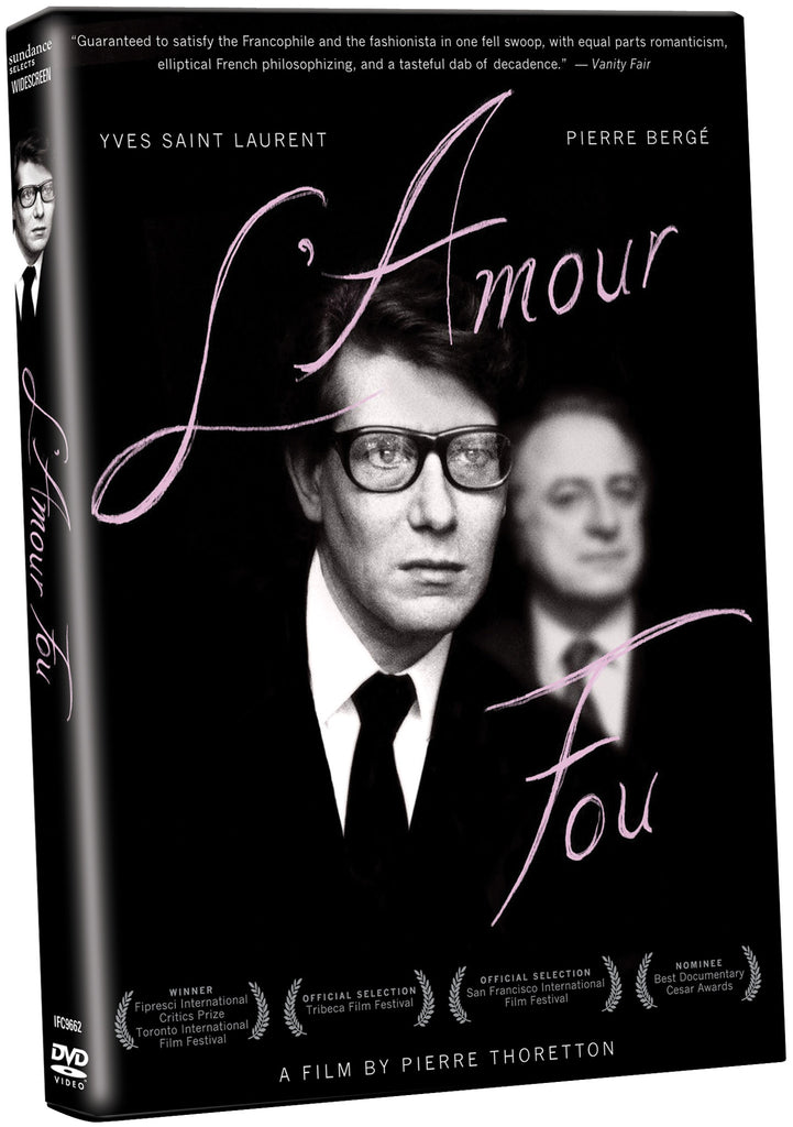 L'Amour Fou - Box Art