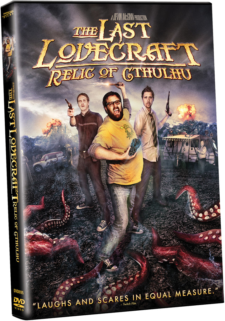 Last Lovecraft: Relic of Cthulhu, The - Box Art