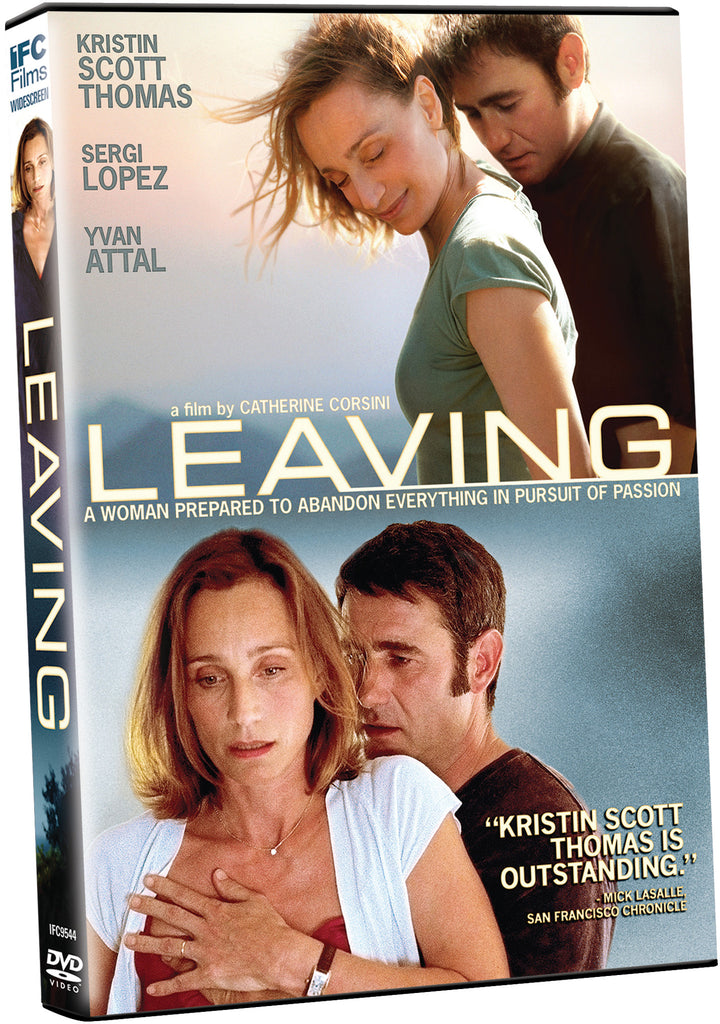 Leaving - Box Art