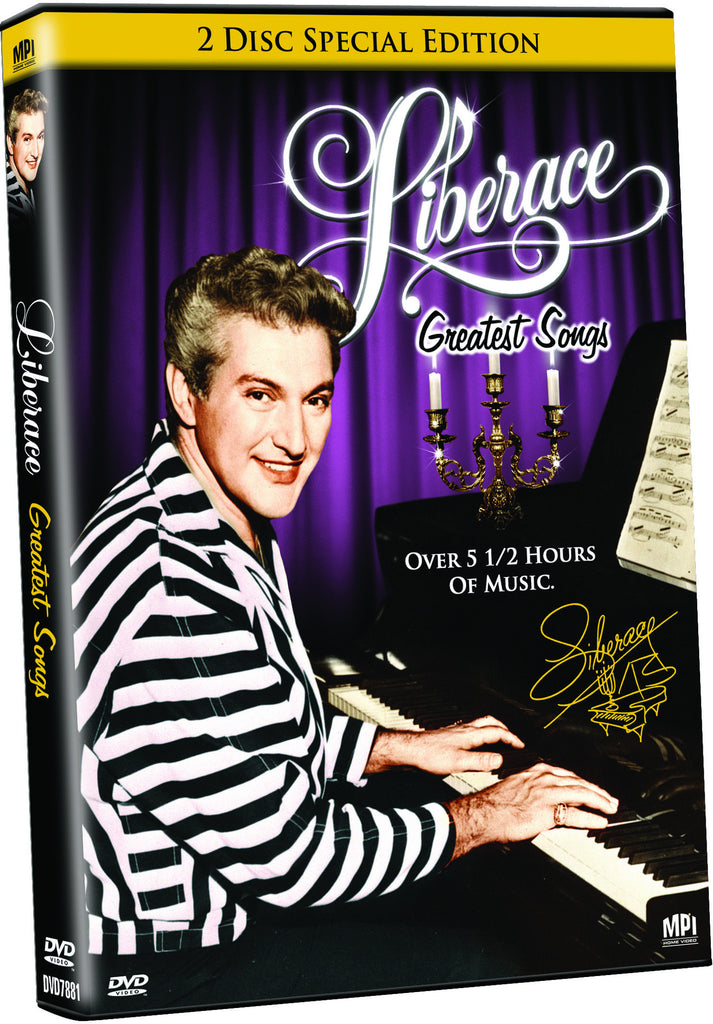 Liberace: Greatest Songs - Box Art