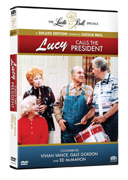 Lucy Calls the President - Box Art