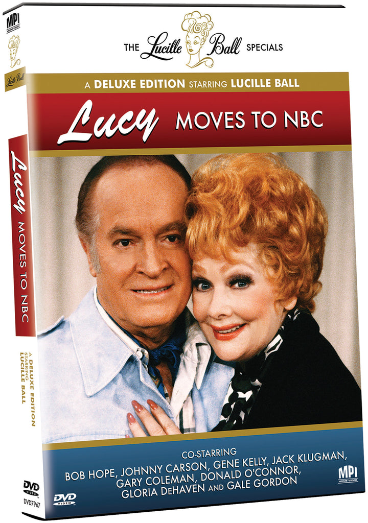 Lucille Ball Specials: Lucy Moves to NBC - Box Art