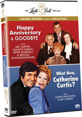 Lucille Ball Specials Double Feature: Happy Anniversary &     Goodbye / What Now, Catherine Curtis?, The - Box Art