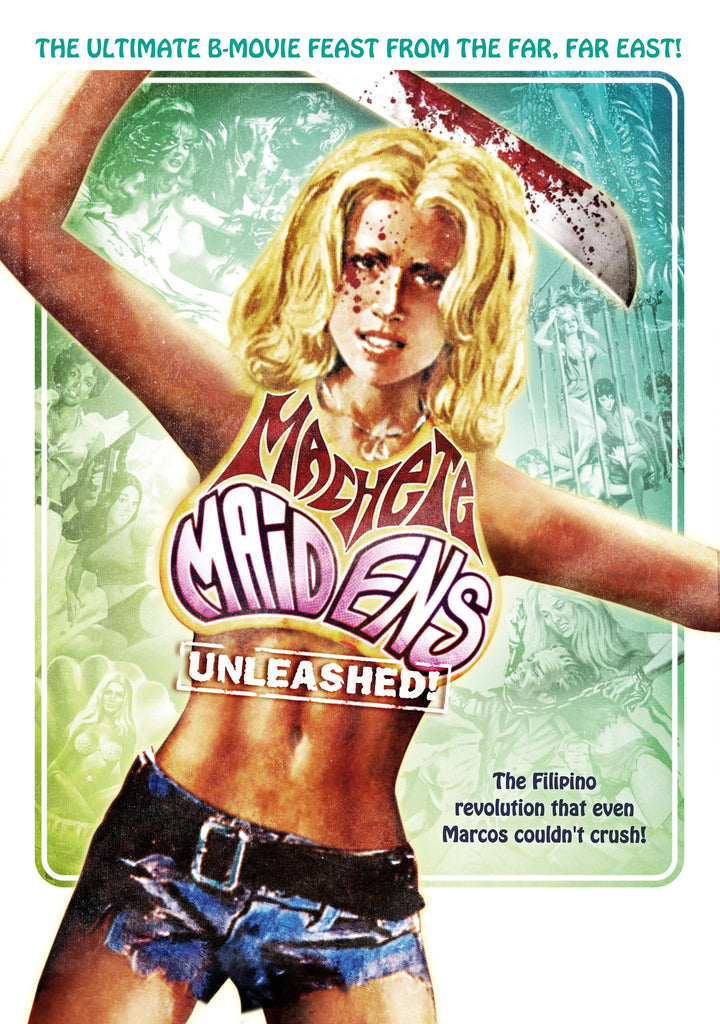 Machete Maidens Unleashed - Box Art