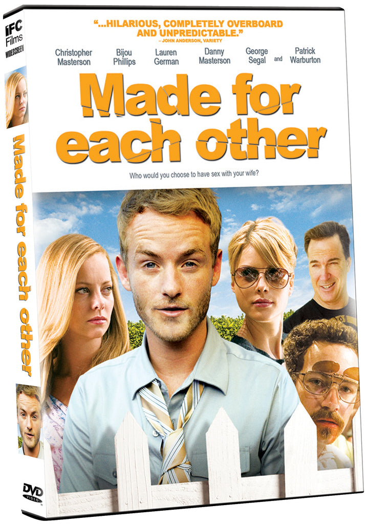 Made For Each Other - Box Art