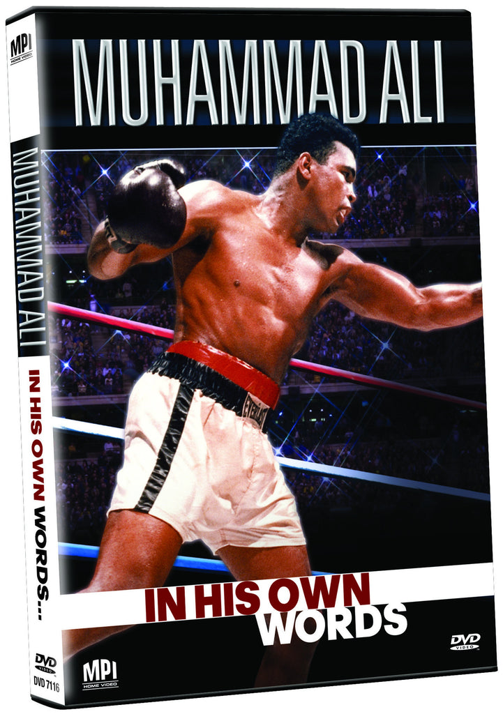 Muhammad Ali: In His Own Words - Box Art