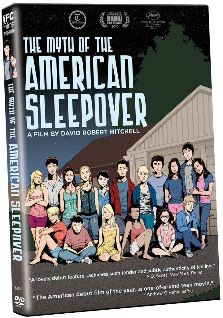 Myth of the American Sleepover, The - Box Art