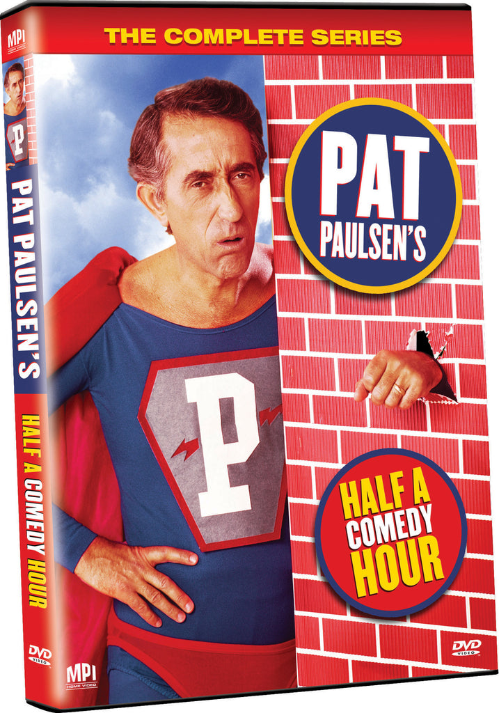 Pat Paulsen's Half A Comedy Hour - Box Art