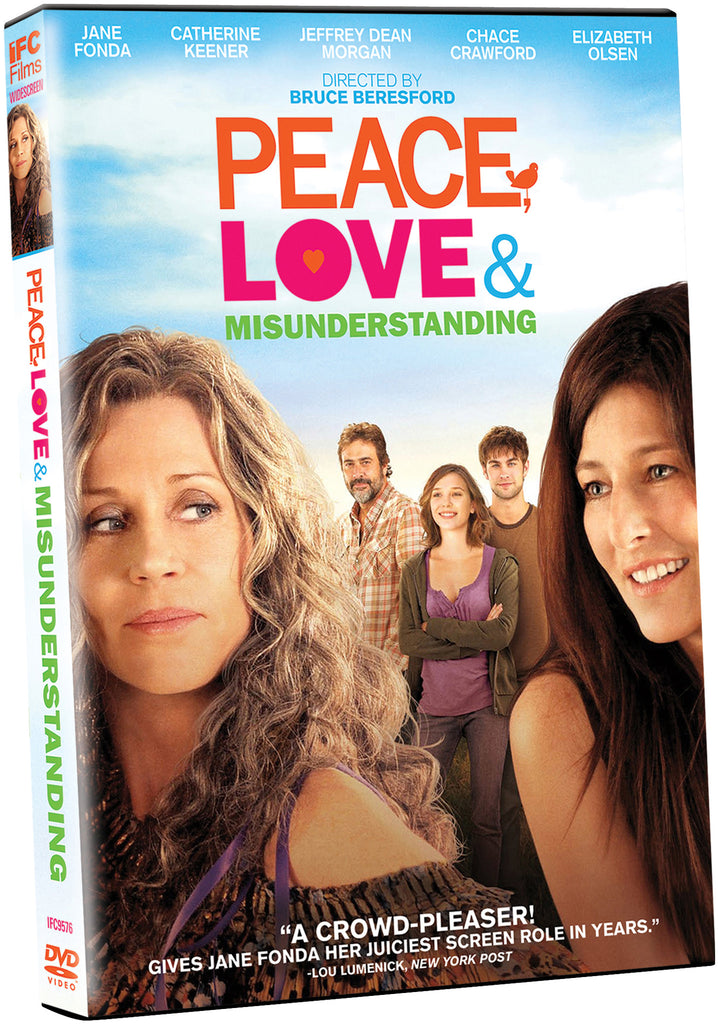 Peace, Love and Misunderstanding - Box Art