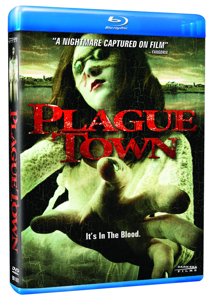 Plague Town Blu-ray - Box Art