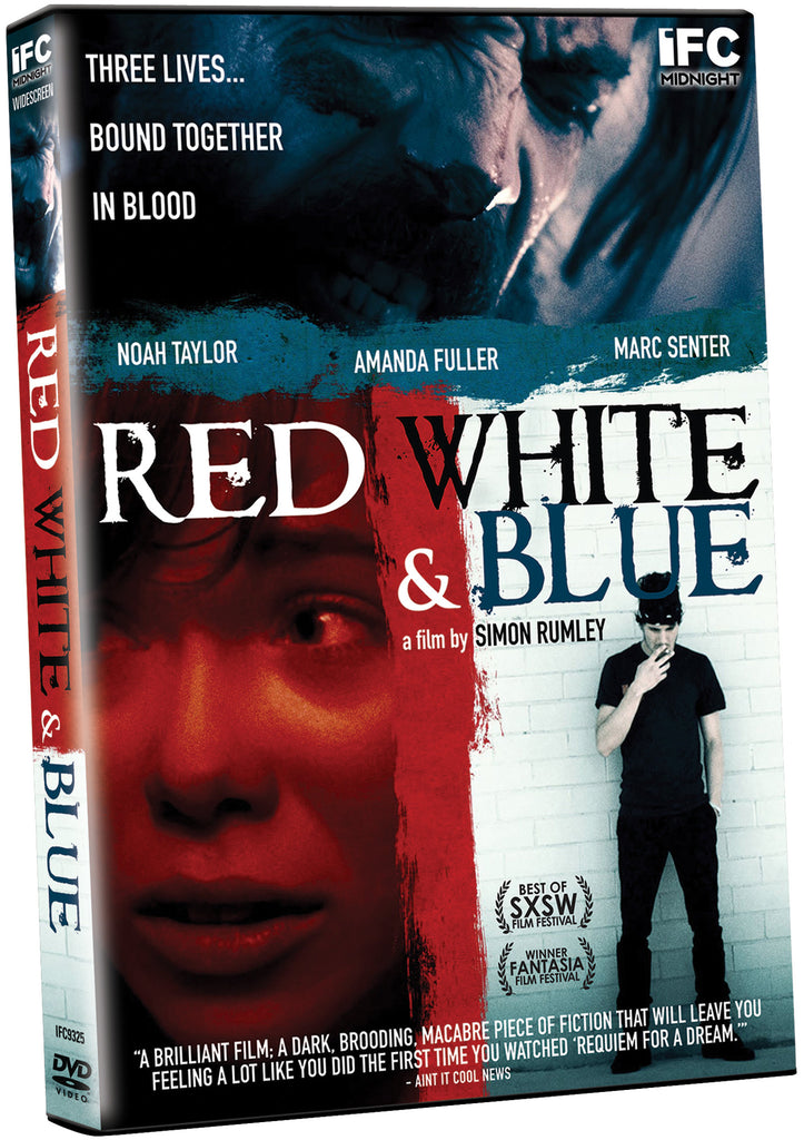 Red, White and Blue - Box Art
