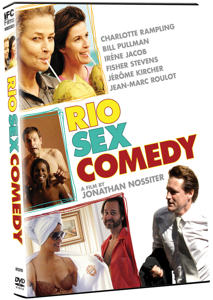 Rio Sex Comedy - Box Art