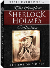 Complete Sherlock Holmes Collection, The - Box Art
