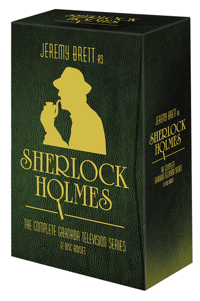Sherlock Holmes: The Complete Granada Television Series - Box Art