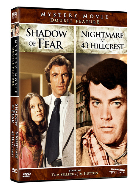 Mystery Movie Double Feature: Shadow of Fear and Nightmare at 43 Hillcrest - Box Art