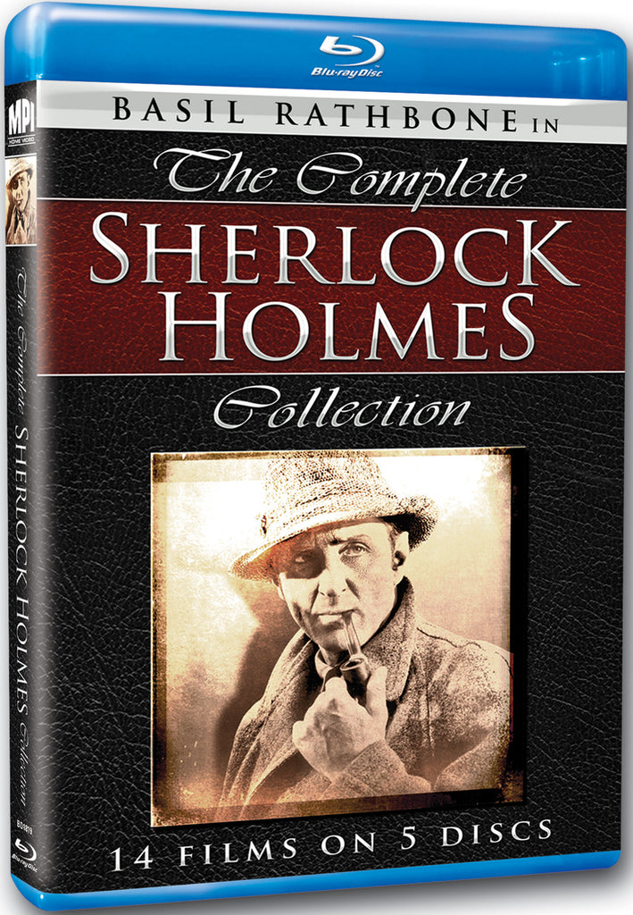 Sherlock Holmes: The Complete Collection - Box Art
