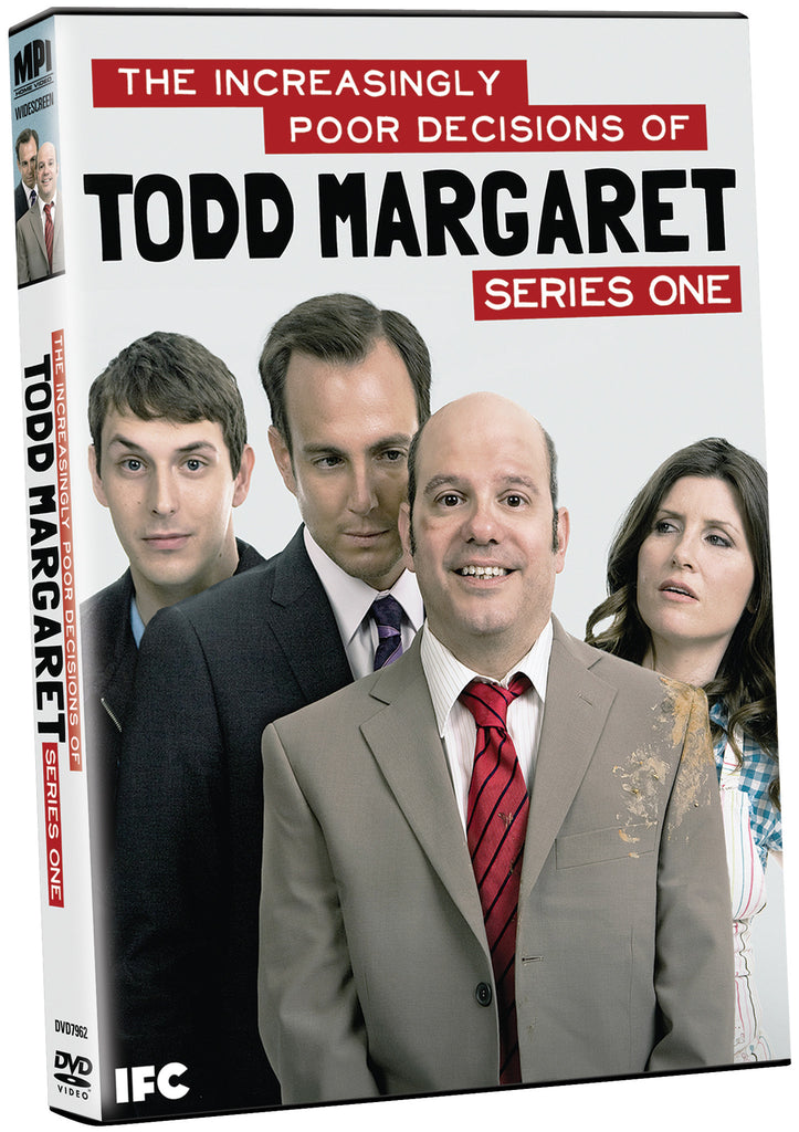 Increasingly Poor Decisions of Todd Margaret Series 1, The - Box Art
