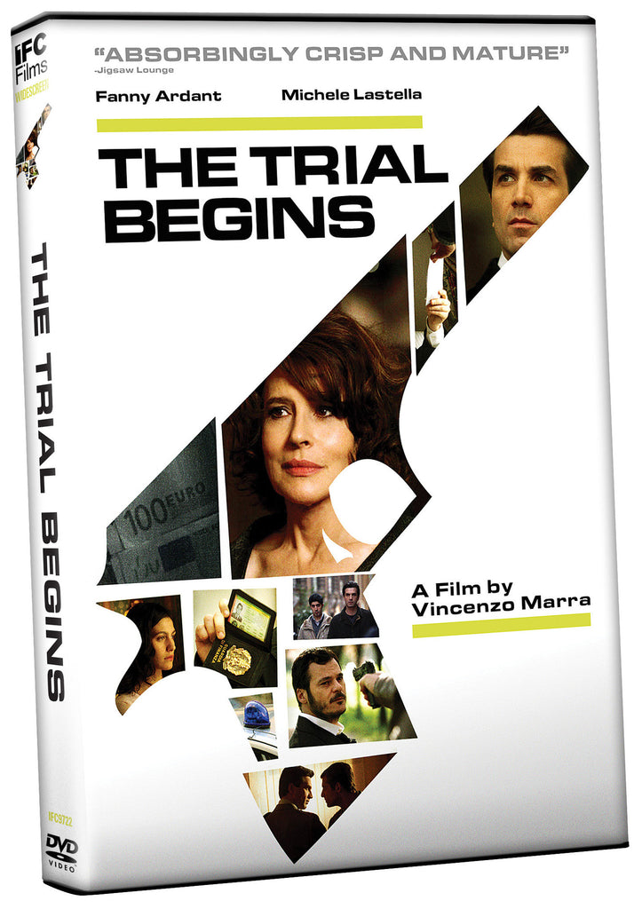 Trial Begins, The - Box Art