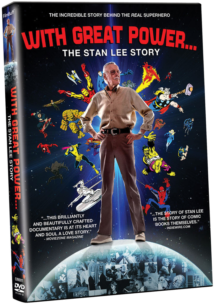 With Great Power: The Stan Lee Story - Box Art
