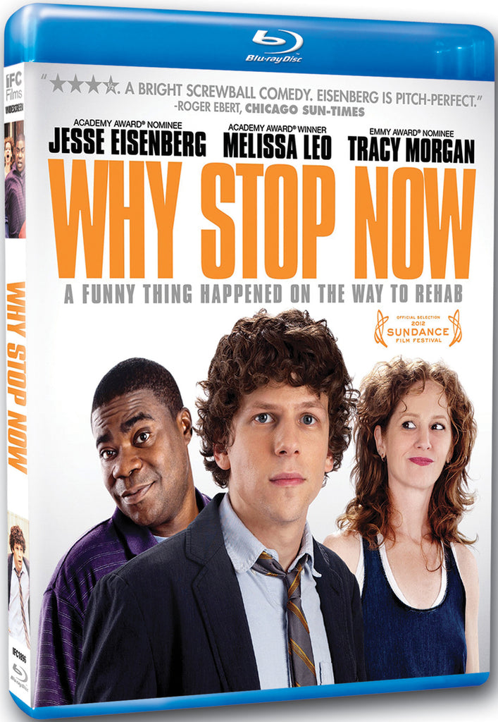 Why Stop Now - Box Art