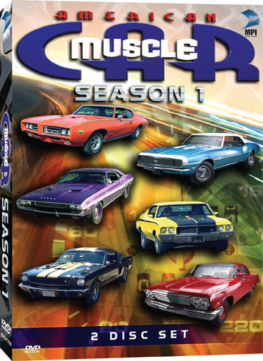American Muscle Car Season 1 Collection - Box Art
