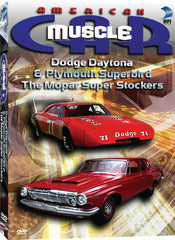 American Muscle Car: Dodge Daytona &Plymouth Superbird: The Mopar Super Stockers - Box Art