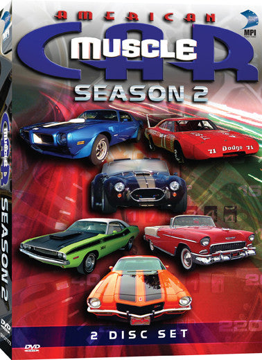 American Muscle Car Season 2 Collection - Box Art