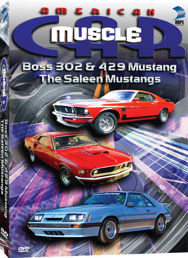 American Muscle Car: Boss 302 &429 Mustang: The Saleen Mustangs - Box Art