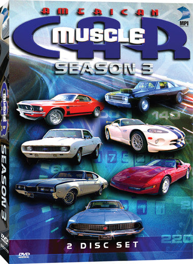 American Muscle Car Season 3 Collection - Box Art