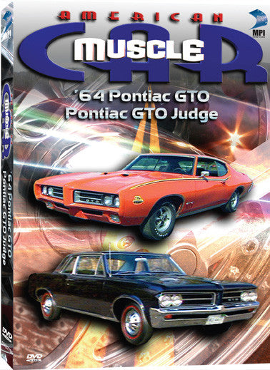 American Muscle Car 64 Ponitac Gto Pontiac Gto Judge Mpi Home Video