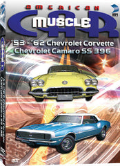 American Muscle Car: '53-'62 Chevrolet Corvette Chevrolet Camaro SS 396 - Box Art