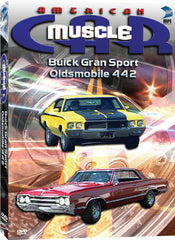 American Muscle Car: Buick Gran Sport and Oldsmobile 442 - Box Art