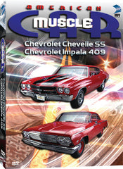 American Muscle Car: Chevrolet Chevelle SS &Chevrolet Impala 409 - Box Art
