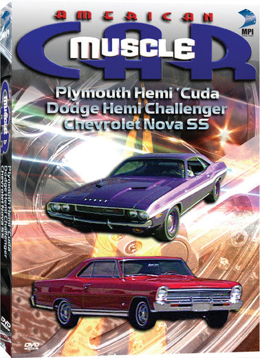 American Muscle Car: Plymouth Hemi Cuda, Dodge Hemi Challenger,  Chevrolet Nova SS - Box Art
