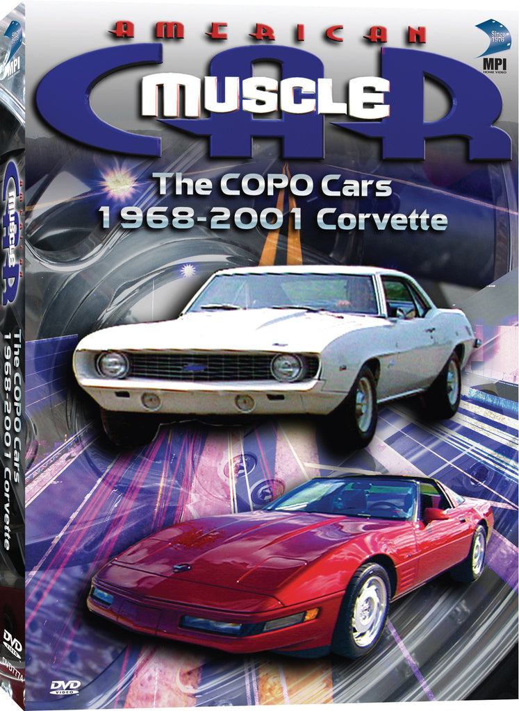 American Muscle Car: The Copo Cars, 1968-2001 Corvette - Box Art