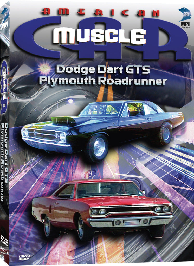 American Muscle Car: Dodge Dart GTS, Plymouth Roadrunner – MPI Home ...