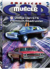 American Muscle Car: Dodge Dart GTS, Plymouth Roadrunner - Box Art