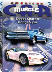 American Muscle Car: Dodge Charger, Dodge Viper - Box Art